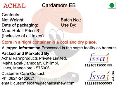 Cardamom EB
