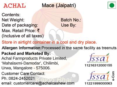 Jaipatri - Mace